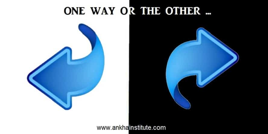 One way or the other …