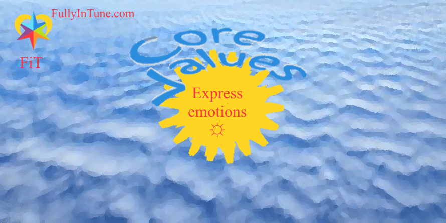 Expressing your emotions is better than suppressing them